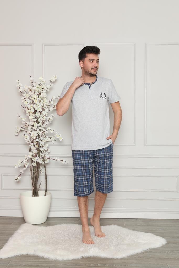 Piżama męska 3 guziki R: