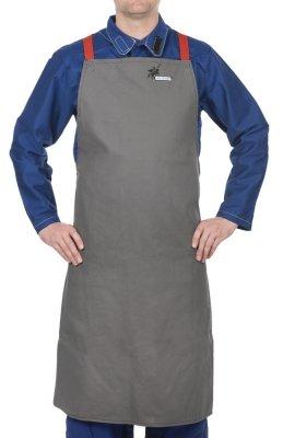WELDAS-38-4342W Arc Knight® fartuch spawalniczy, wysokiej odporności trudnopalna bawełna 520 gr./m2 (107 cm/80 cm) dł x szer