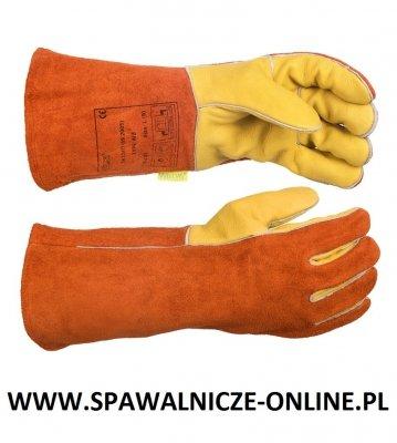 WELDAS-Rękawica spawalnicza z dłonią wykonaną z licowej skóry wołowej 10-2150 L