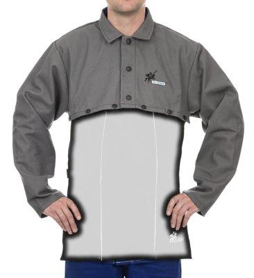 WELDAS-38-4328 Arc Knight® ochrona ramion i barków (bolerko), wysokiej odporności trudnopalna bawełna 520 gr./m2 - rozmiar M,L,XL