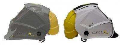 Przyłbica spawalnicza SPARTUS Pro 301X z kaskiem ochronnym