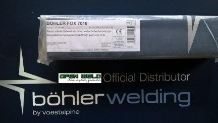 Elektroda BOHLER AWS 7018-1 2,5x350 (4,1 kg.)