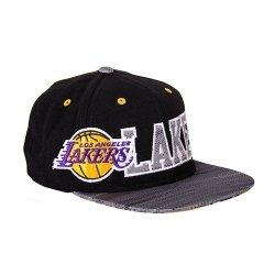 ADIDAS CZAPKA Z DASZKIEM NBA LOS ANGELES FLAT CAP LA AY6128