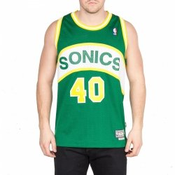 ADIDAS KOSZULKA BEZ RĘKAWÓW INTERNATIONAL RETIRED SEATTLE SUPERSONICS JERSEY NBA A46586