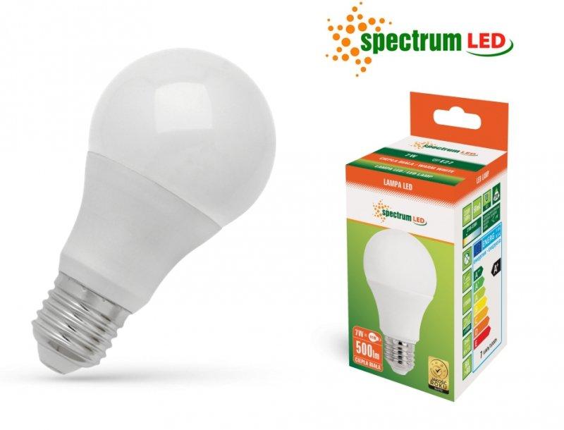 Żarówka LED 10W 3000K E27 ciepla biała WOJ+13902_270ST SpectrumLED WOJ+13902