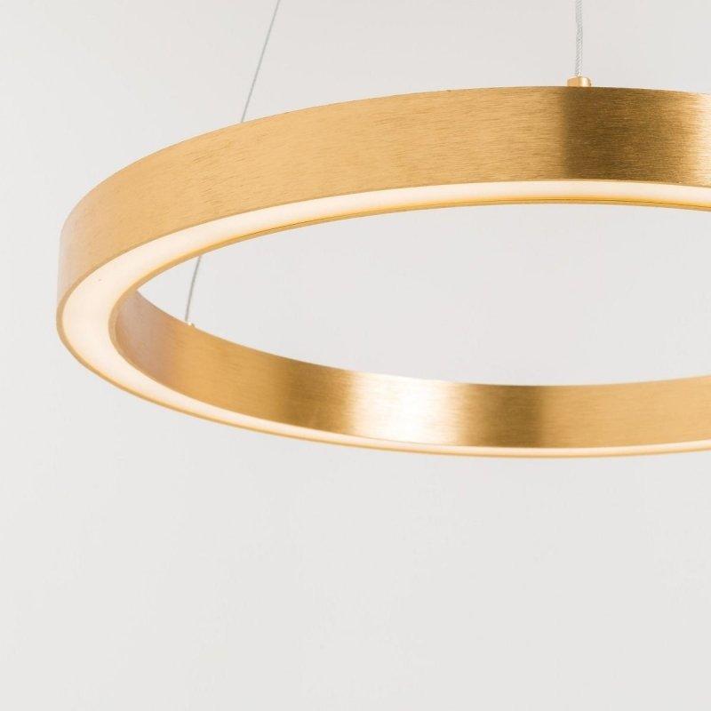 Lampa wisząca złota 40W 50cm CARLO PL200910-500-GD Zuma Line