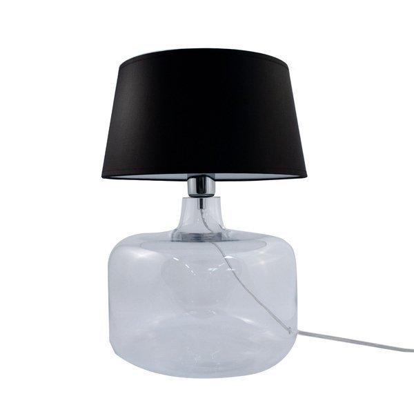 Lampa stołowa BATUMI TRANSPARENT 5528BK Zuma Line