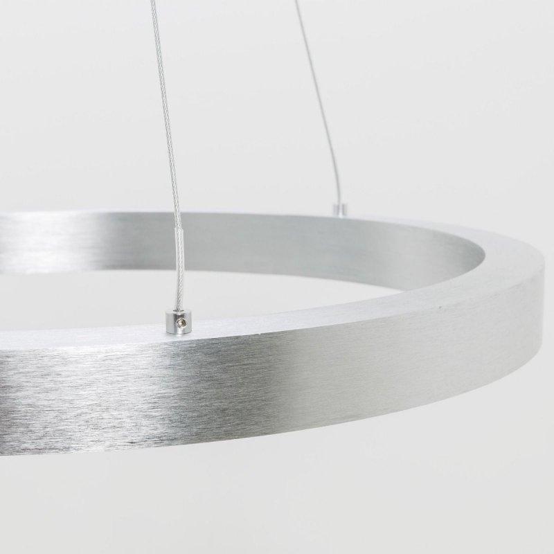 Lampa wisząca srebrna 30W 40cm CARLO PL200910-400-GD Zuma Line