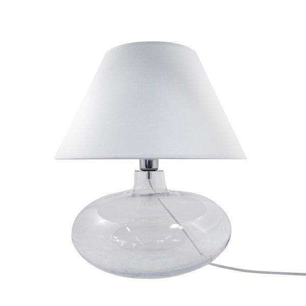 Lampa stołowa ADANA TRANSPARENT5518WH Zuma Line