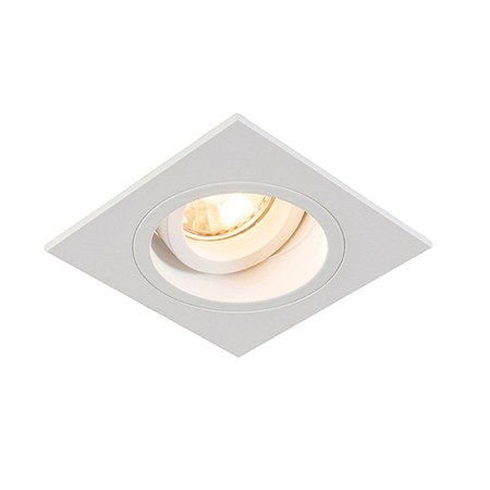 LAMPA SPOT ZUMA LINE CHUCK DL SQUARE H-92703 BIAŁY/WHITE