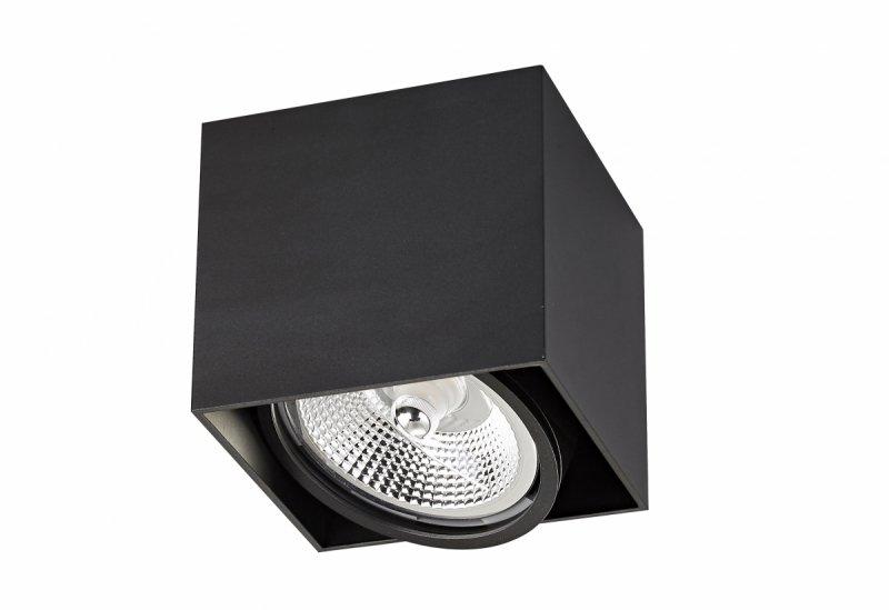 LAMPA WEWNĘTRZNA (SPOT) ZUMA LINE BOX 1 BK SPOT ACGU10-115 Zuma Line