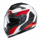 KASK HJC C70 CANEX WHITE/BLACK/RED M