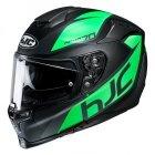 HJC R-PHA-70 KASK MOTOCYKLOWY PINOT BLACK/GREEN