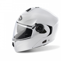KASK AIROH RIDES WHITE GLOSS