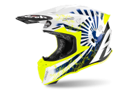 KASK AIROH TWIST 2.0 KATANA YELLOW GLOSS