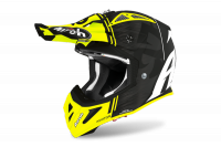 KASK AIROH AVIATOR ACE KYBON YELLOW MATT