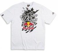KINI RED BULL Pasted K White T-Shirt koszulka biała