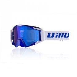 GOGLE IMX SAND BLUE/WHITE - SZYBA BLUE IRIDIUM + CLEAR (2 SZYBY W ZESTAWIE)