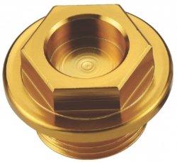 Accel korek wlewu oleju do Suzuki RM/RMZ (82-16) - złoty (GWINT M20X1,5)