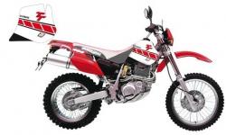 Blackbird Dream 3 Yamaha TT 600 R (97-05) okleina naklejki komplet