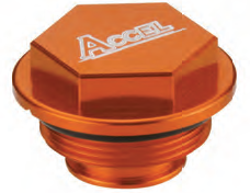 Accel tylna pokrywa pompy hamulcowej - KTM 200SX (03-04)