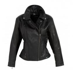 Spirit Motors Virginia damska kurtka motocyklowa skórzana czarna