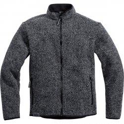 PHARAO Bluza Sweter Kurtka Polar rozpinana na zamek Wełniana Szara/Popielata