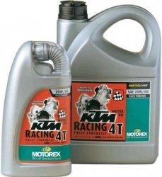 MOTOREX OLEJ SILNIKOWY KTM RACING 4T 20W60 4L