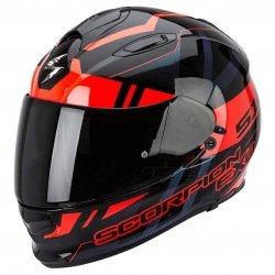 Scorpion Exo-510 AIR STAGE kask motocyklowy czarny-czerwony