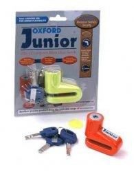Oxford blokada tarczy hamulcowej Junior kolor pomarańczowy