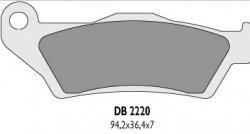 Delta Braking Husqvarna TE 250 (02-07) klocki hamulcowe przód
