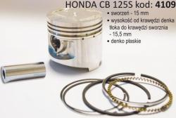 Tłok HONDA CB 125 S