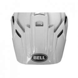 DASZEK BELL MX-9 ADVENTURE SOLID WHITE