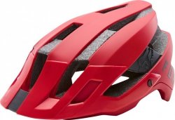 KASK ROWEROWY FOX  FLUX BRIGHT RED
