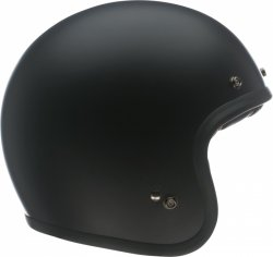 KASK BELL CUSTOM 500 DLX SOLID MATTE BLACK XL