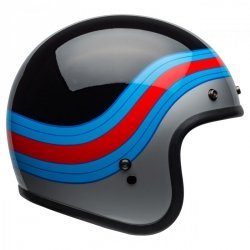 KASK BELL CUSTOM 500 DLX PULSE BLACK/BLUE/RED S