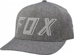 CZAPKA Z DASZKIEM FOX BARRED FLEXFIT DARK GREY S/M
