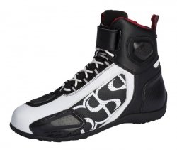 BUTY IXS RS-400 SHORT BLACK/WHITE 44