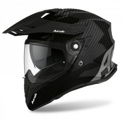 KASK AIROH COMMANDER CARBON FULL GLOSS S