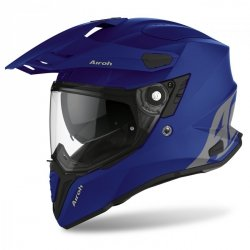 KASK AIROH COMMANDER COLOR BLUE MATT M