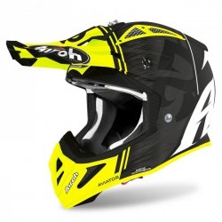 KASK AIROH AVIATOR ACE KYBON YELLOW MATT S