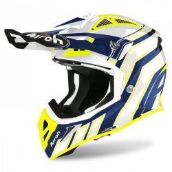 KASK AIROH AVIATOR ACE ART BLUE GLOSS S