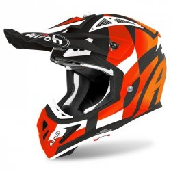 KASK AIROH AVIATOR ACE TRICK ORANGE MATT S