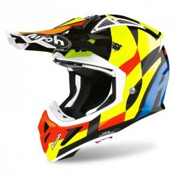 KASK AIROH AVIATOR ACE TRICK GLOSS M