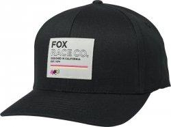 CZAPKA Z DASZKIEM FOX ANALOG FLEXFIT BLACK S/M