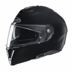 KASK HJC I90 METAL BLACK XXL