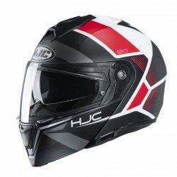 KASK HJC I90 HOLLEN BLACK/WHITE/RED M