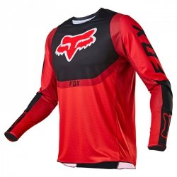 BLUZA FOX 360 VOKE RED XXL