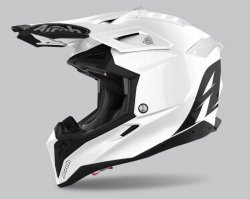KASK AIROH AVIATOR 3 COLOR WHITE GLOSS L