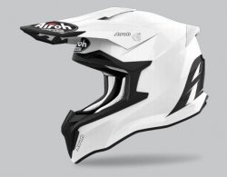 KASK AIROH STRYCKER COLOR WHITE GLOSS L